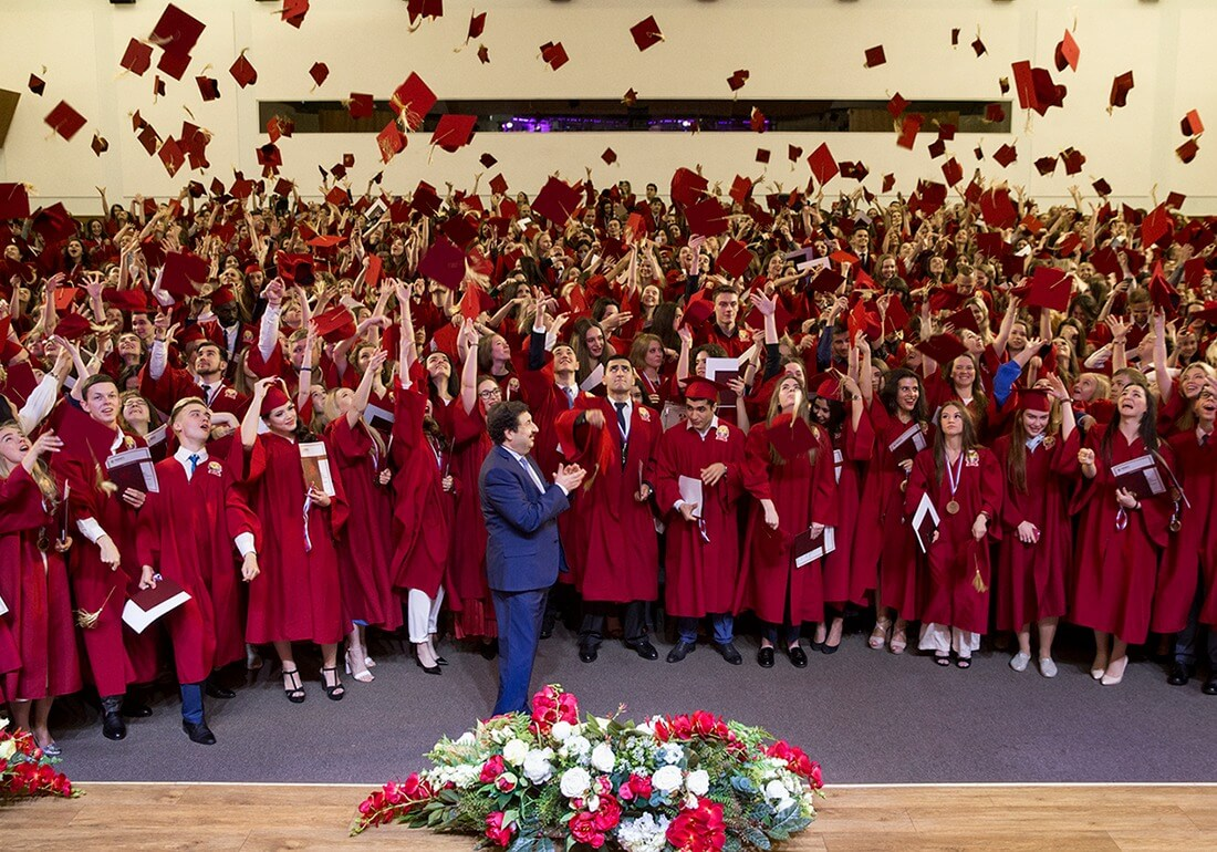 Церемония вручения красных дипломов РАНХиГС